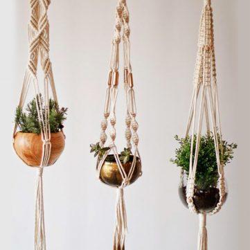Macrame Workshop - Plant Holders
