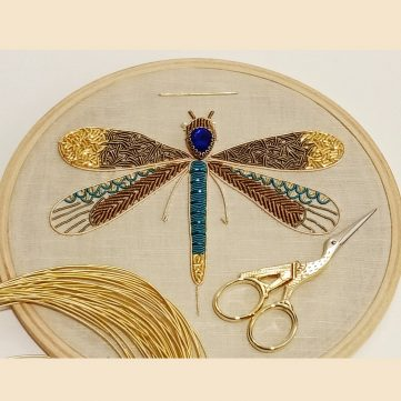 Zardosi Embroidery Workshop