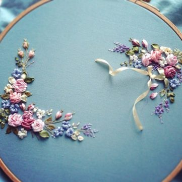 Ribbon Embroidery Workshop