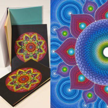 Dot Mandala on Diary