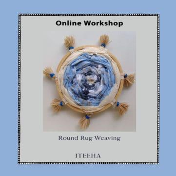 Round Rug Weaving