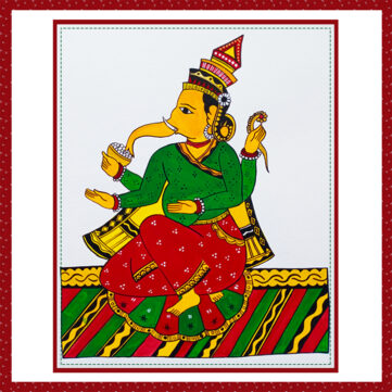 Chitrakathi Ganesha Workshop