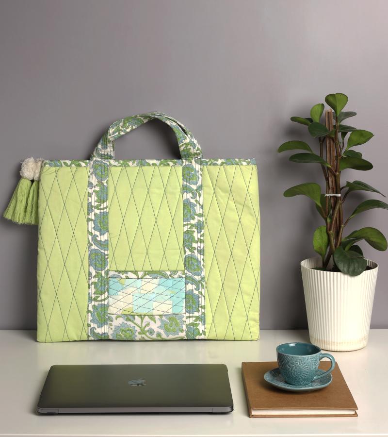 Upcycled Katran Tote Bag
