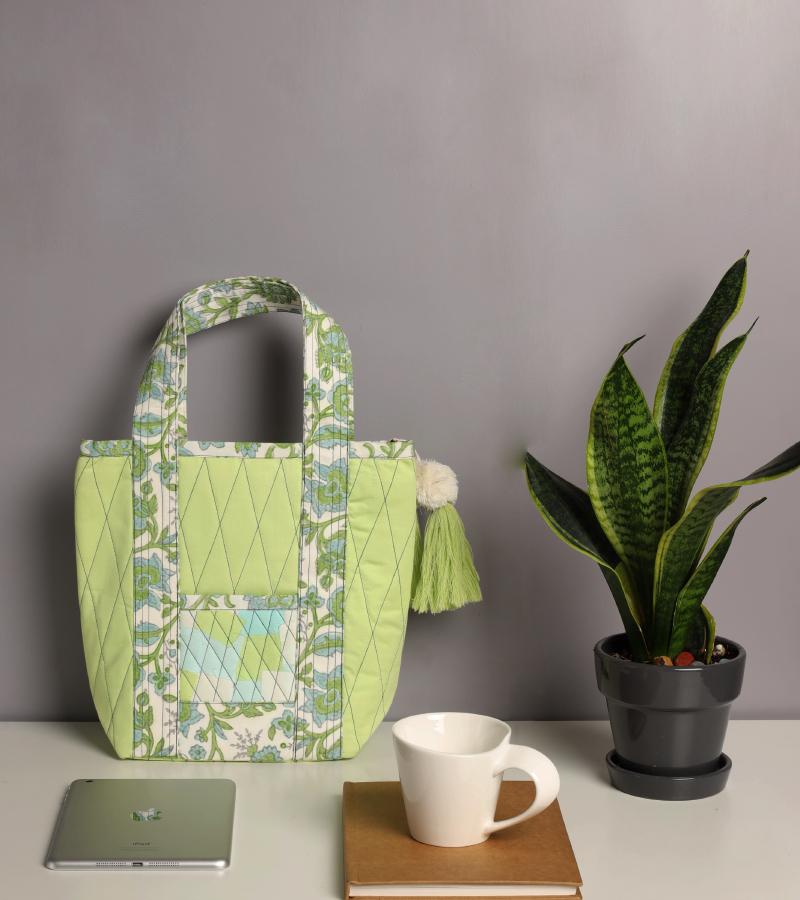 Upcycled Katran Hand Bag