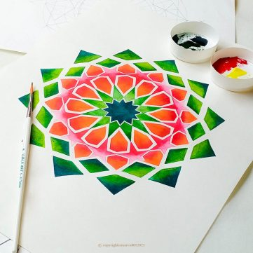 Islamic Pattern -Workshop