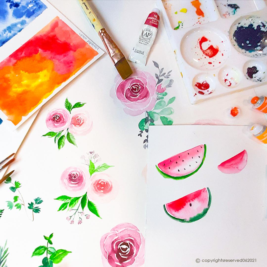 Basics of Watercolour
