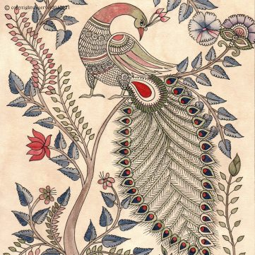 Kalamkari Birds
