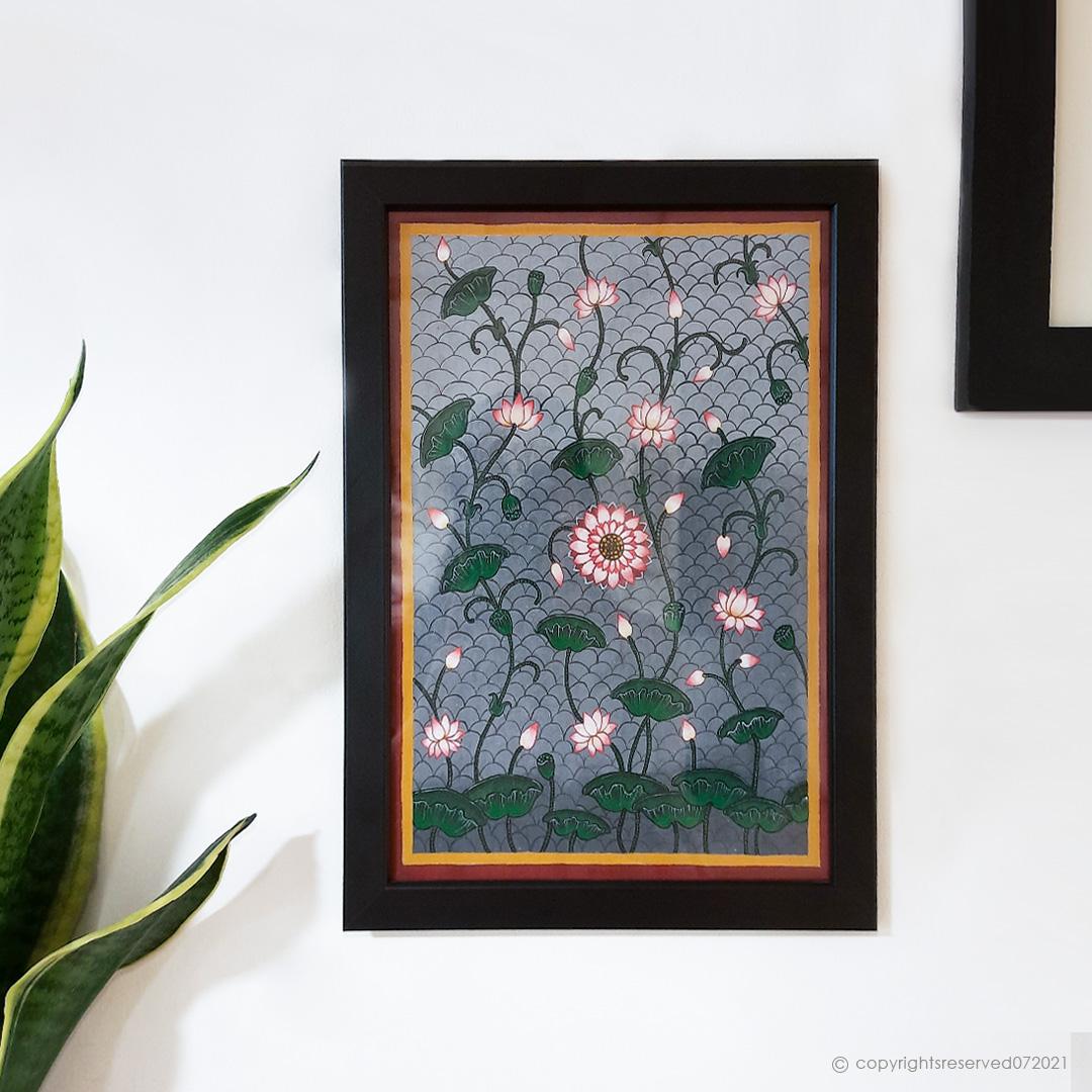 Lotus Pichwai